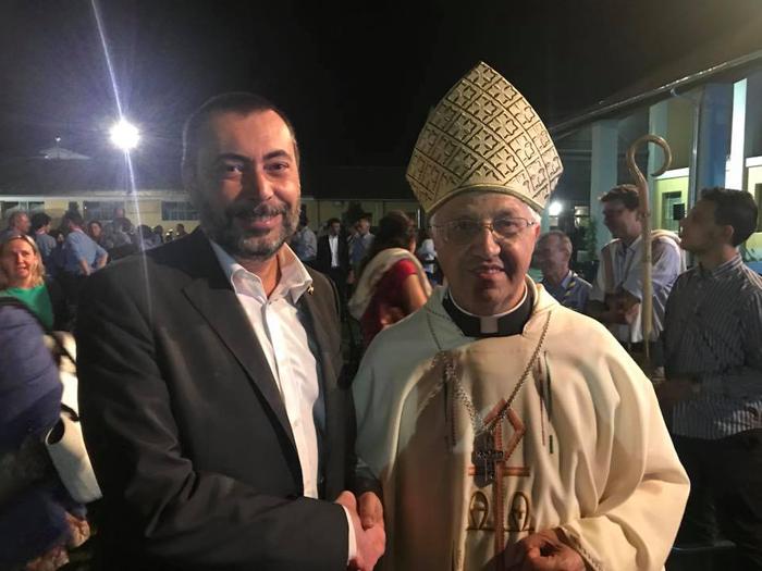 Celebrazione eucaristica officiata dal Vescovo Mons. Malvestiti