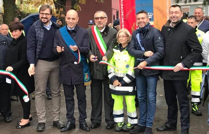 Inaugurazione nuova sede della Protezione Civile di Casaletto Lodigiano