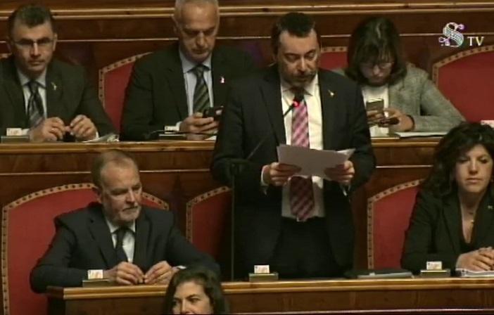 Intervento in aula nella discussione sul Decreto Salvini