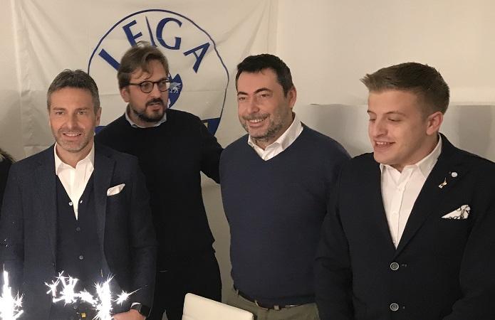 Inaugurazione della sede Lega a Lodi Vecchio
