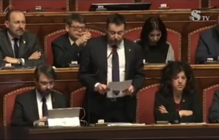 Intervento in aula: ulteriore passo avanti per ridurre il numero di parlamentari
