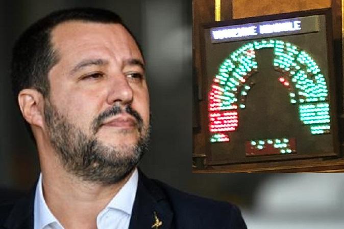 Caso Diciotti: negata l'autorizzazione a procedere contro Salvini