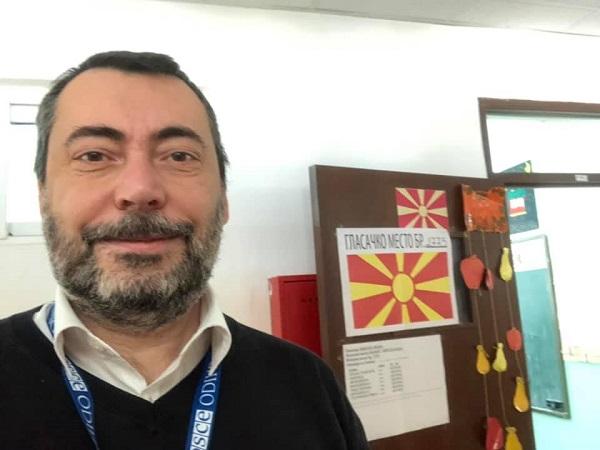 OSCE: Augussori rientrato dalla Macedonia