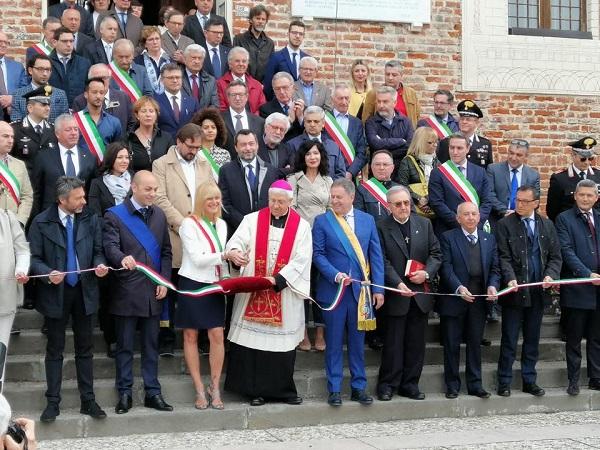 Fiera Regionale di Borghetto: Augussori all'inaugurazione