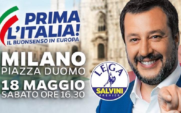 Milano, 18 maggio 2019: il futuro dell'Europa passa da qui