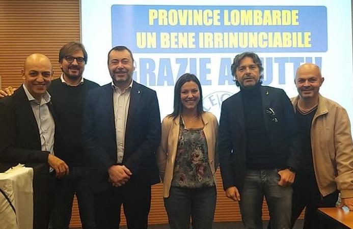 Convegno sulle Province Lombarde: Augussori presente con la delegazione lodigiana