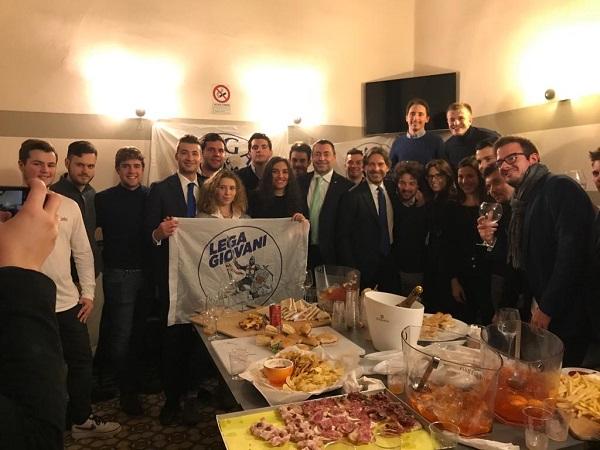 """""""I Giovani incontrano la Politica"""": Augussori all'aperitivo della Lega Giovani"""