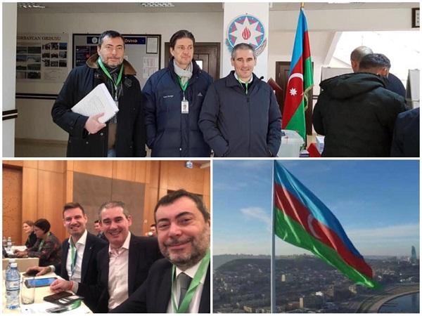 OSCE, missione di monitoraggio in Azerbaijan: presente il senatore Augussori