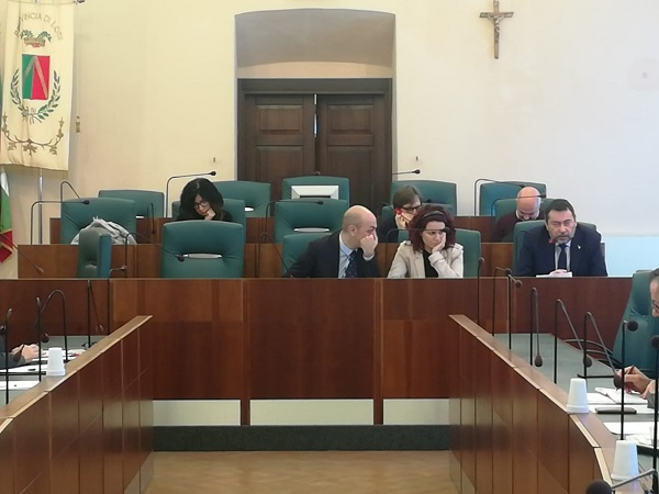 Tavolo provinciale sull'occupazione e sul territorio, presente il senatore Augussori