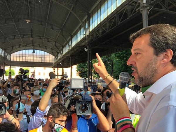 Salvini a Codogno, Augussori (Lega): da questa bellissima piazza si riparte