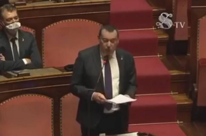 Decreto Semplificazioni, intervento in aula del senatore Augussori