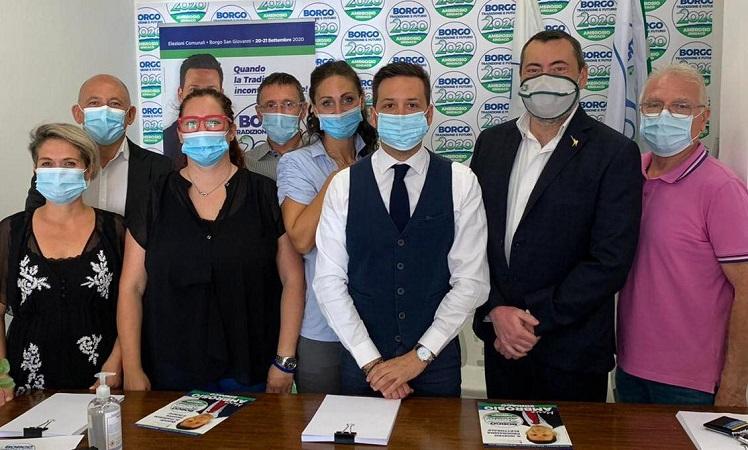 Comunali 2020, Augussori a Borgo San Giovanni per sostenere il candidato sindaco Marco Ambrosio