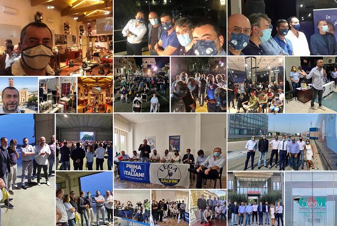 Elezioni regionali, Augussori (Lega) in tour a sostegno dei candidati del centrodestra