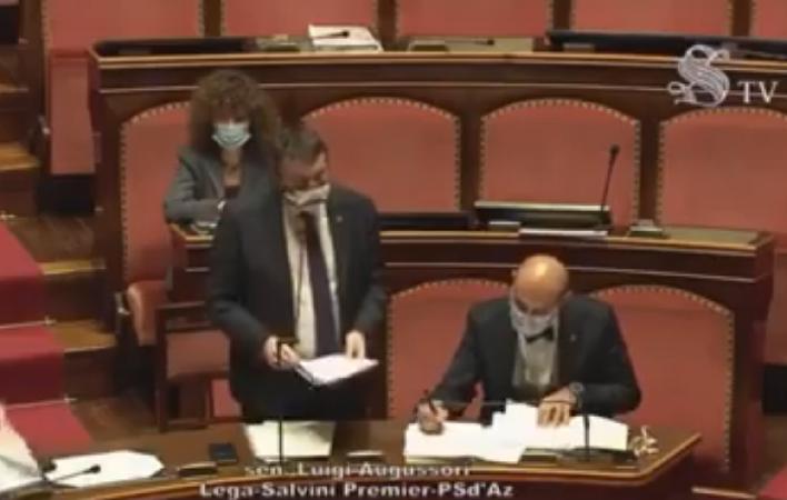 DL Clandestini: Augussori (Lega) presenta in Senato la relazione di minoranza