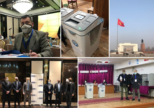Elezioni presidenziali in Kirghizistan: Augussori con la delegazione OSCE