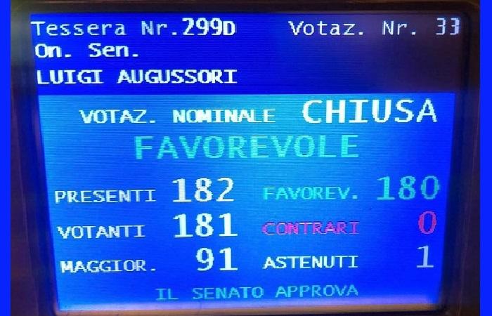 Piccoli Comuni, approvato in prima lettura al Senato il DDL del senatore Augussori