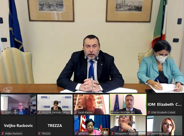 Comitato Immigrazione OSCEPA, Augussori alla riunione di insediamento